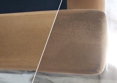 Upholstery arm cleaning comparison