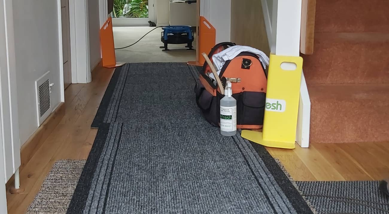 Protecting your floors with drop mats